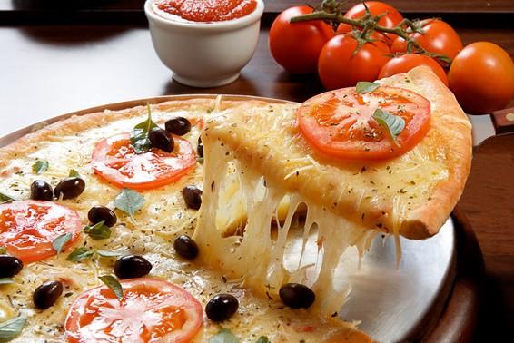 pizza sabor margherita