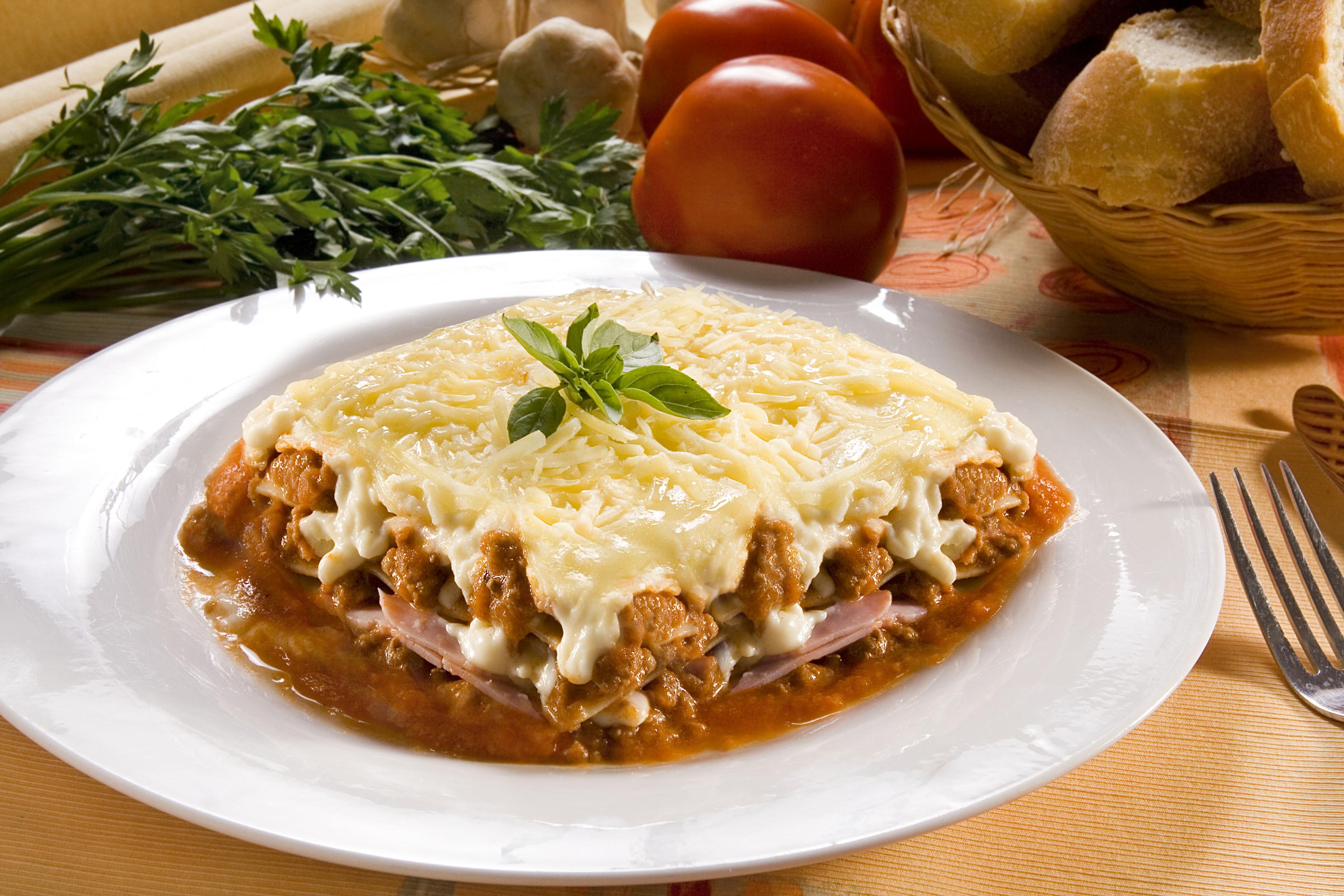 comfort food - lasanha
